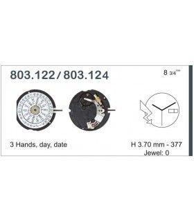 Máquina o movimiento para reloj ETA 803.124