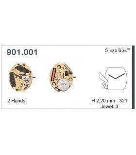 Máquina o movimiento para reloj ETA 901.001