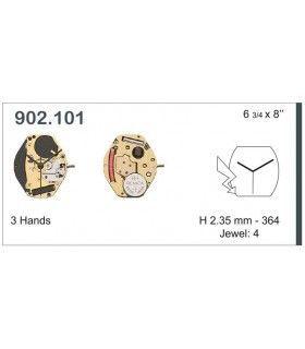Máquina o movimiento para reloj ETA 902.101