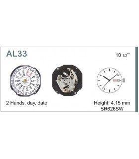 Máquina o movimiento para reloj HATTORI AL33