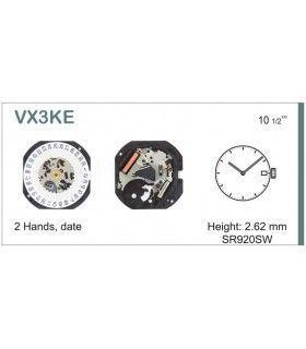Máquina o movimiento para reloj HATTORI VX3K
