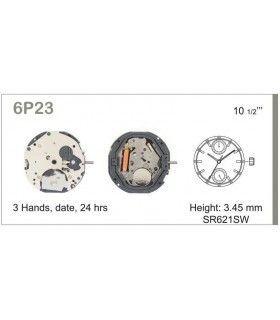 Máquina o movimiento para reloj MIYOTA 6P23