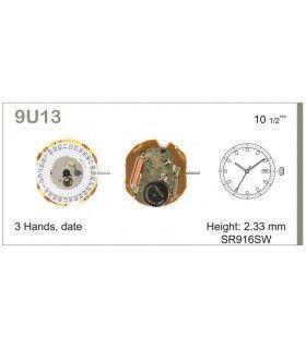 Máquina o movimiento para reloj MIYOTA 9U13