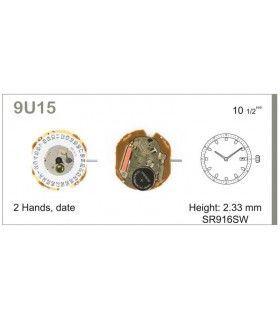 Máquina o movimiento para reloj MIYOTA 9U15