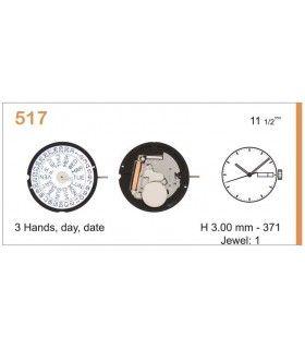 Máquina o movimiento para reloj RONDA 517