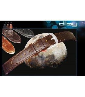 Correa de piel para reloj Diloy 704