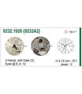 Máquina o movimiento para reloj ISA 9232A2