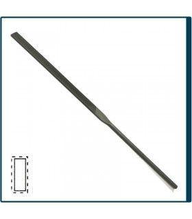 Limatón Plano de 160mm y Picado 2 para joyería, bisutería y artesanía en general. Diloytools LI.C121
