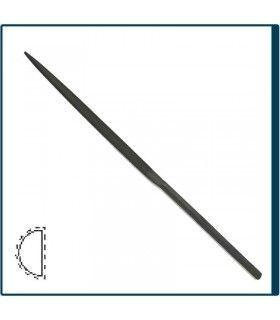 Limatón Media Caña de 160mm y Picado 2 para joyería, bisutería y artesanía en general. Diloytools LI.C123