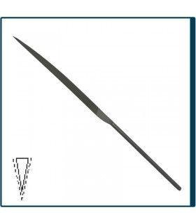 Limatón Cuchillo de 160mm y Picado 2 para joyería, bisutería y artesanía en general. Diloytools LI.C127