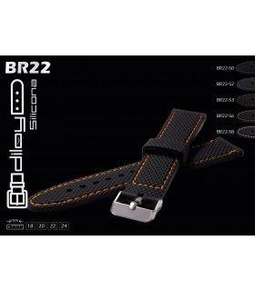 Correa de silicona para reloj, Diloy BR22