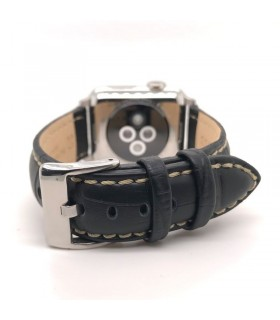 Correas Apple Watch negra mod 378